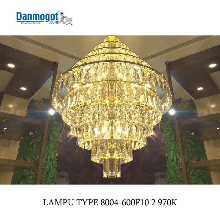 LAMPU CHANDELIER 8004-600F10