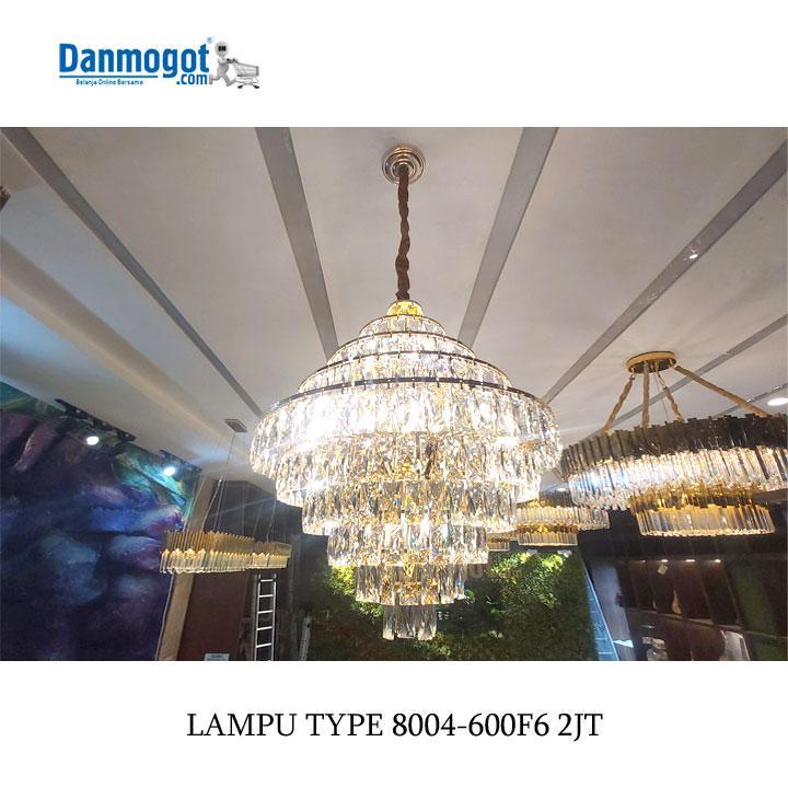 LAMPU CHANDELIER 8004-600F6