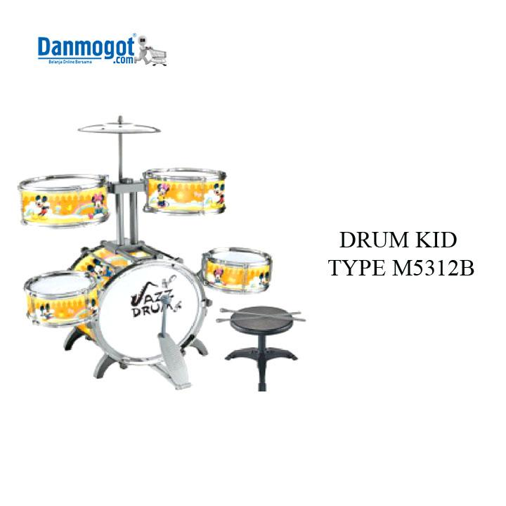 Children toy five drums M5312B