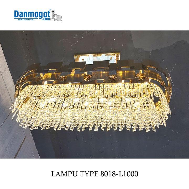 LAMPU CHANDELIER 8017-L1000