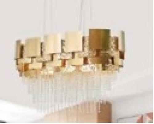 LAMPU CHANDELIER 8018-L1000