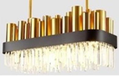 LAMPU CHANDELIER 8002-L900S