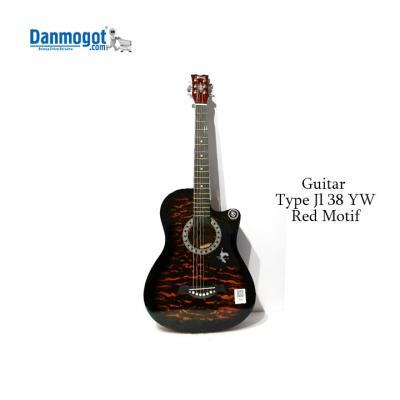 Printed guitar 38 inch JL-38YW