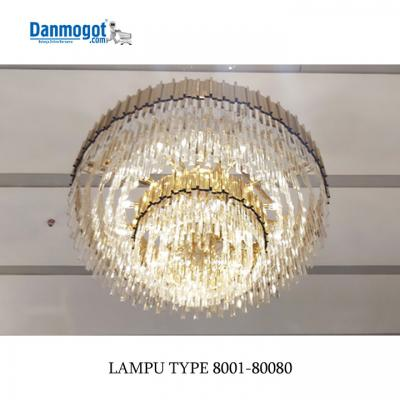 LAMPU CHANDELIER 8001-800 80